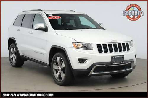 2016 JEEP Grand Cherokee Limited 4X4 Crossover SUV for sale in Amityville, NY