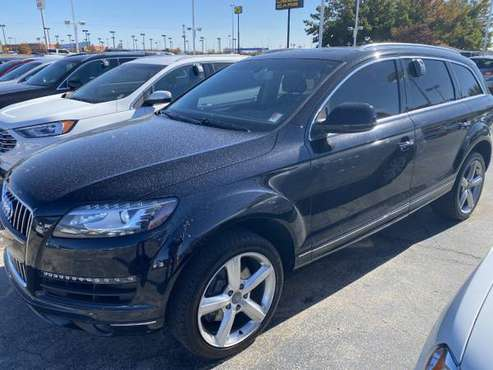 *MUST SEE* 2013 AUDI Q7 3.0T S LINE PRESTIGE - cars & trucks - by... for sale in Norman, KS