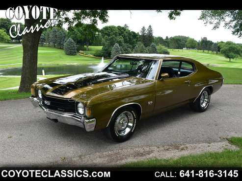 1972 Chevrolet Chevelle Malibu SS for sale in Greene, IA
