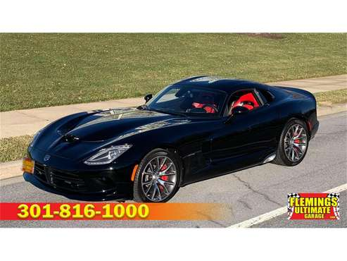 2013 Dodge Viper for sale in Rockville, MD