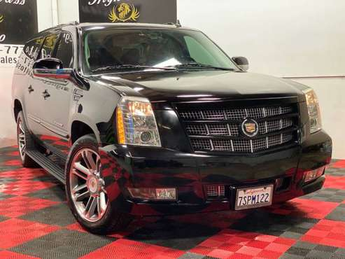 2013 CADILLAC ESCALADE ESV PREMIUM AVAILABLE FINANCING!! for sale in MATHER, CA