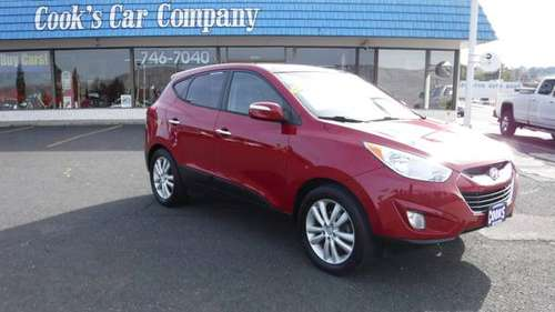 2013 Hyundai Tucson Limited 1 Owner Local Trade-in for sale in Uniontown, ID