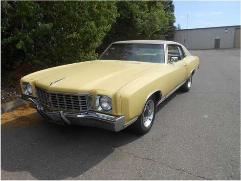 1972 Chevrolet Monte Carlo for sale in Roseville, CA