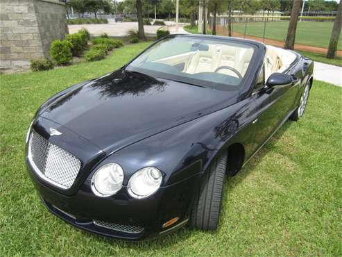 2009 Bentley Continental GTC for sale in Delray Beach, FL