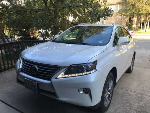2015 Lexus RX 350 with 25k miles – for sale by owner for sale in Cedar Park, TX