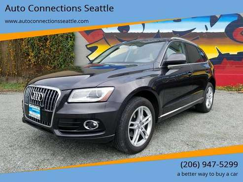 2014 Audi Q5 2.0T quattro Premium Plus AWD 4dr SUV with for sale in Seattle, WA