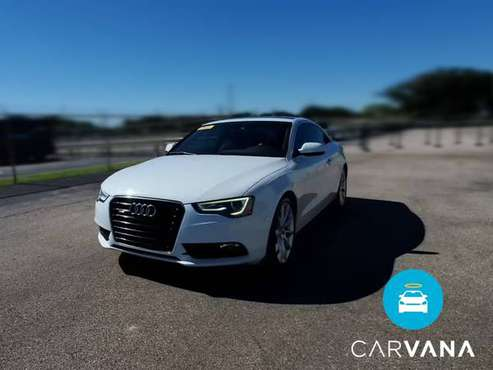 2013 Audi A5 2.0T Premium Plus Coupe 2D coupe White - FINANCE ONLINE... for sale in Austin, TX