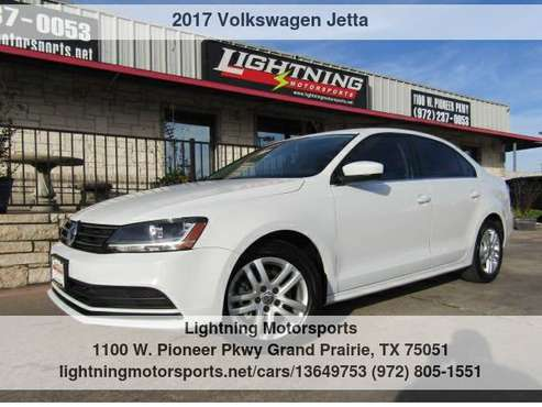 2017 Volkswagen Jetta 1.4T S Auto Financing Available - cars &... for sale in Grand Prairie, TX