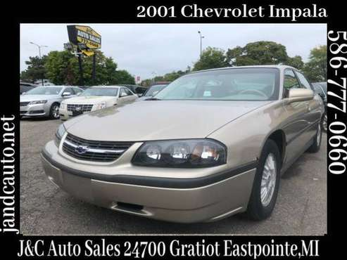2001 Chevrolet Impala Base for sale in Eastpointe, MI