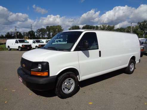"2014 CHEV G-3500HD EXTENDED CARGO VAN ""Give the King a Ring"" for sale in Savage, MN"