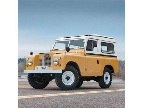 1966 Land Rover Series IIA for sale in St. Louis, MO