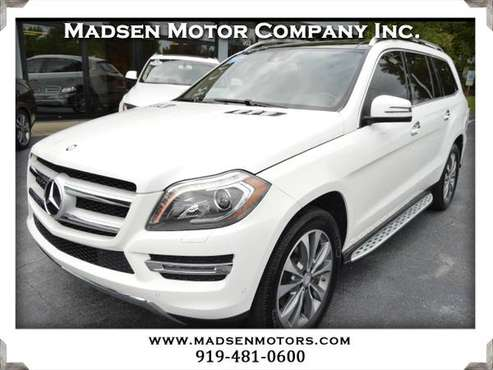 2015 Mercedes GL350 BlueTEC, 89k, White, Exceptional! for sale in Cary, NC