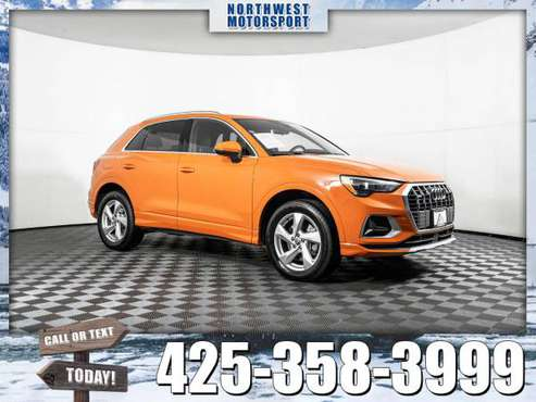 2020 *Audi Q3* Premium AWD - cars & trucks - by dealer - vehicle... for sale in Everett, WA