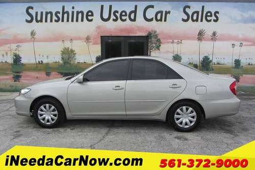2004 Toyota Camry LE Only $999 Down** $65/wk - cars & trucks - by... for sale in West Palm Beach, FL