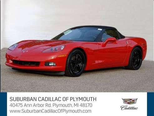 2005 Chevrolet Corvette convertible Base - Chevrolet Black - cars &... for sale in Plymouth, MI