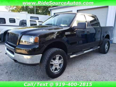 2005 Ford F150 F-150 SuperCrew 4x4 LIFTED, Clean Carfax w/ Warranty for sale in Youngsville, NC