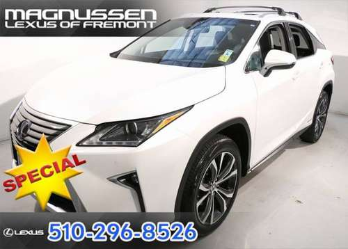 2019 Lexus RX AWD 4D Sport Utility / SUV 450h for sale in Fremont, CA
