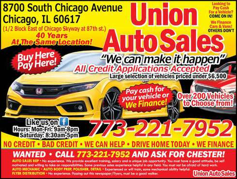 Cheap used cars for sale for sale in Chicago, IL