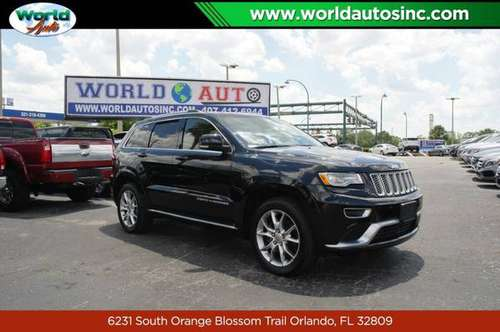 2015 Jeep Grand Cherokee Summit 4WD $729 DOWN $100/WEEKLY for sale in Orlando, FL