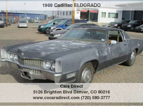 1969 CADILLAC ELDORADO for sale in Denver , CO