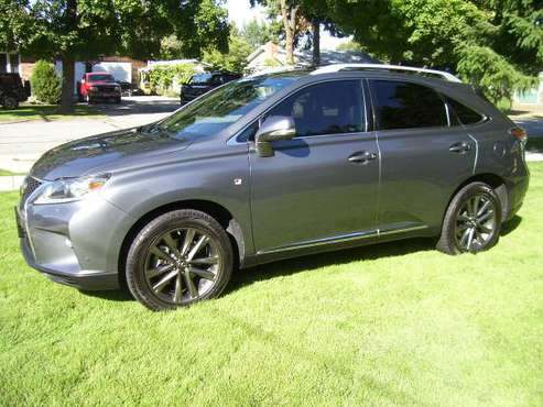 "2014 LEXUS RX 350 ""F SPORT"" AWD, NAV, BACK UP CAM, BEAUTIFUL, 270 H.P. for sale in Spokane Valley, WA"