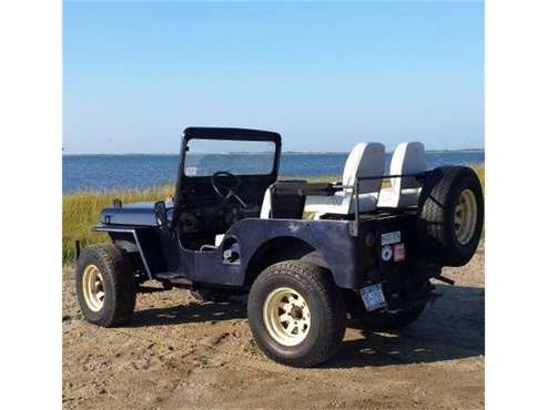 1949 Willys Jeep for sale in Cadillac, MI