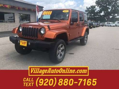 2011 Jeep Wrangler Unlimited Unlimited Sahara for sale in Green Bay, WI