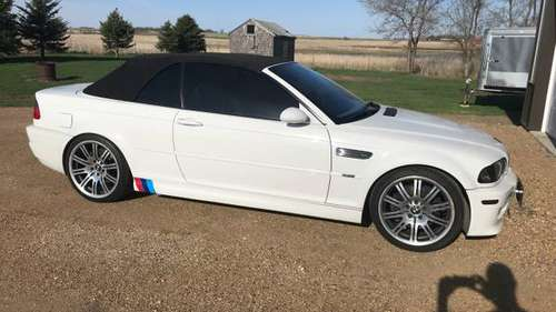 2002 BMW M3 Convertible for sale in Colman, SD