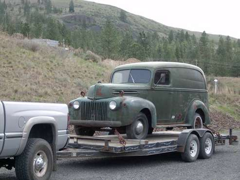 1946 Ford Delivery panel truck for sale in Davenport, WA