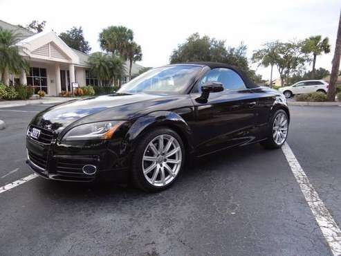 2013 AUDI TT ROADSTER AWD PRESTIGE 43K LIKE NEW FLORIDA CAR CLEAR... for sale in Fort Myers, FL