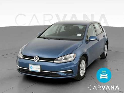 2019 VW Volkswagen Golf 1.4T S Hatchback Sedan 4D sedan Blue -... for sale in Park Ridge, IL