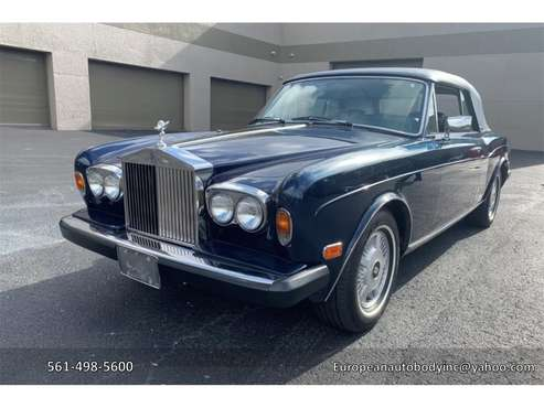 1983 Rolls-Royce Corniche for sale in Boca Raton, FL