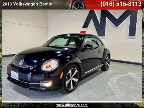 2013 VOLKSWAGEN BEETLE 2DR DSG 2.0T TURBO PZEV *LTD AVAIL* - cars &... for sale in Sacramento , CA