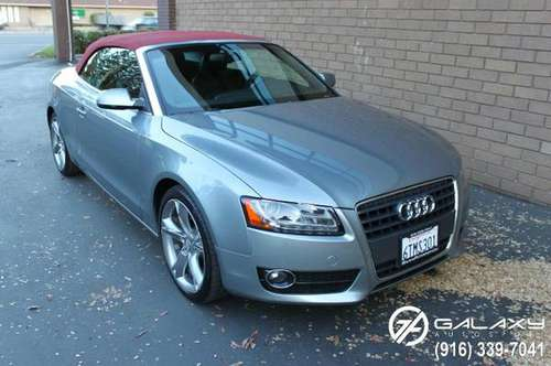 2011 AUDI A5 CONVERTIBLE - PREMIUM PLUS PKG - NAVIGATION - BACK UP... for sale in Sacramento , CA