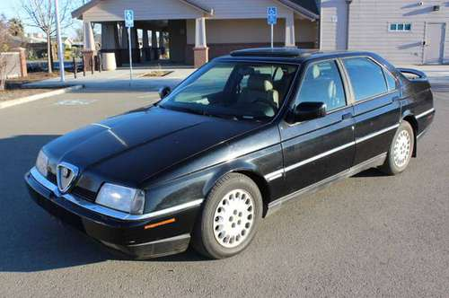 1995 *Alfa Romeo* *164* *LS* Black for sale in Tranquillity, CA
