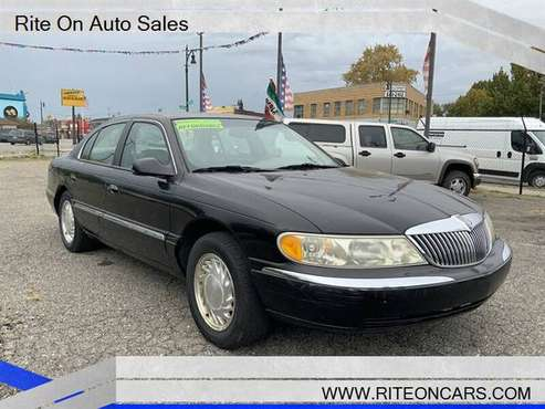 1998 LINCOLN CONTINENTAL,4DR,AUTOMATIC,LOW MILES!!!! for sale in Detroit, MI