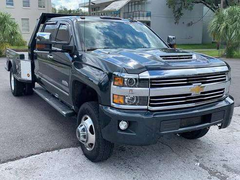 2017 Chevrolet Chevy Silverado 3500HD High Country 4x4 4dr Crew Cab... for sale in TAMPA, FL