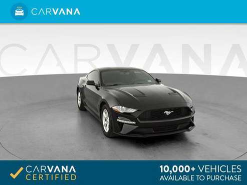 2018 Ford Mustang EcoBoost Coupe 2D coupe Black - FINANCE ONLINE for sale in Norfolk, VA