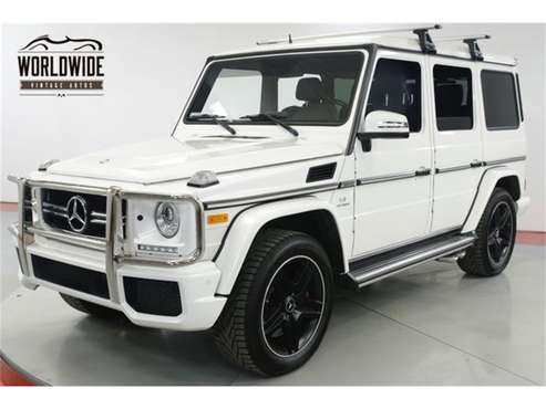 2016 Mercedes-Benz G63 for sale in Denver , CO