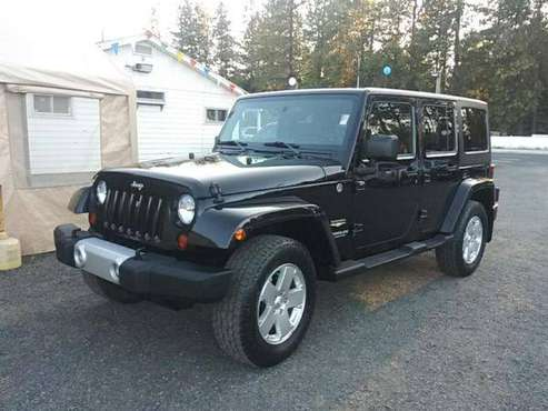 2011 Jeep Wrangler Unlimited Sahara for sale in Mead, WA
