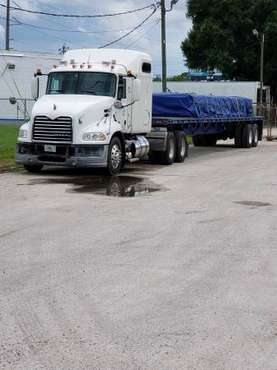 2011 Mack Pennical Semi and trailer Combo..ready to work! for sale in Lakeland, FL