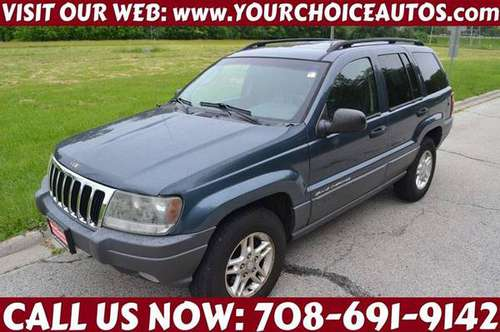 2002 *JEEP*GRAND CHEROKEE*LAREDO 4WD LEATHER SUNROOF GOOD TIRES 329731 for sale in CRESTWOOD, IL