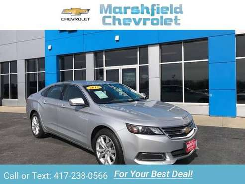 2017 Chevy Chevrolet Impala LT sedan Silver Ice Metallic for sale in Marshfield, MO