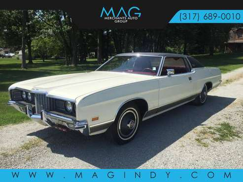 1971 *Ford* *LTD* *2dr Coupe* WHITE for sale in Cicero, IN