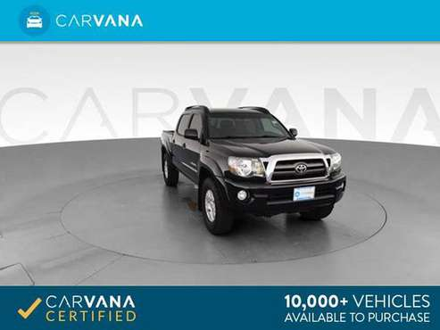 2010 Toyota Tacoma Double Cab Pickup 4D 5 ft pickup Black - FINANCE for sale in Columbia, SC