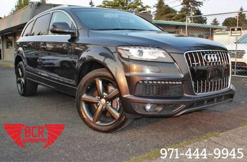 2013 Audi Q7 quattro 4dr 3.0T S line Prestige - cars & trucks - by... for sale in Portland, OR