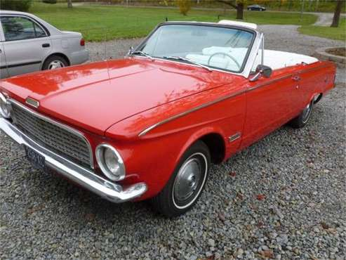 1963 Plymouth Valiant for sale in Cadillac, MI