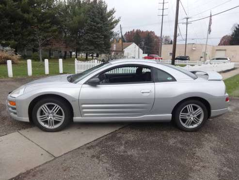 2003 Mitsubishi Eclipse,GT,FWD,Hatchback, Coupe-only 71,157 miles%%%% for sale in Mogadore, OH