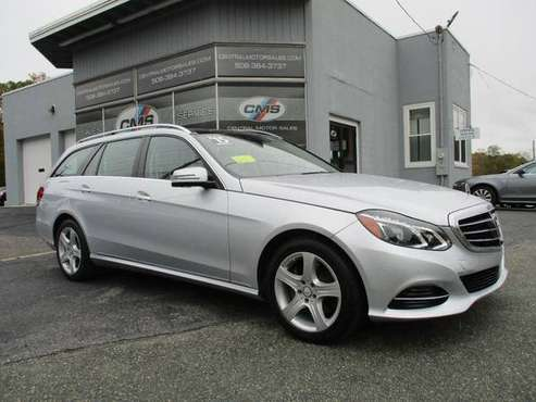 2015 *Mercedes-Benz* *E-Class* *4dr Wagon E 350 Sport 4 for sale in Wrentham, MA
