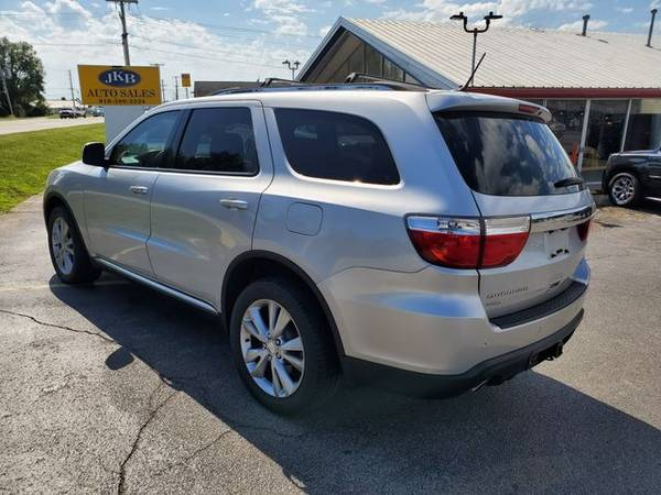 2011 dodge durango awd crew sport utility 4d trades welcome financing for sale in harrisonville mo classiccarsbay com classiccarsbay